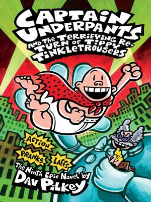 cover image of Captain Underpants and the Terrifying Return of Tippy Tinkletrousers
